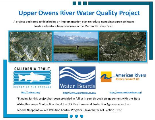 Upper Owens River Water Quality Project