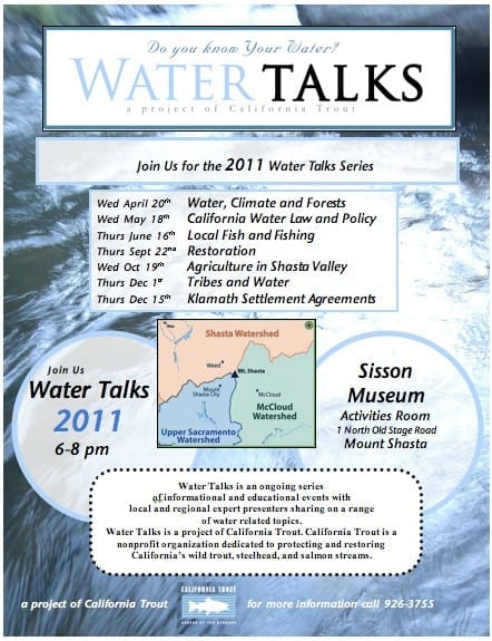 Water Talks 2011 Series