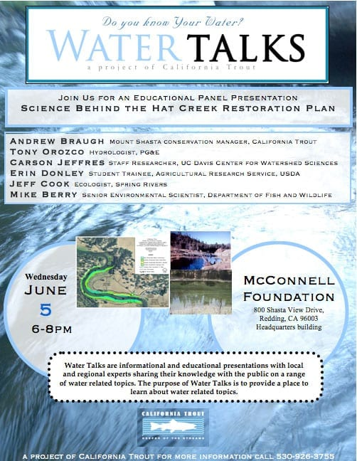 Hat-Creek-Water-Talks-Flyer