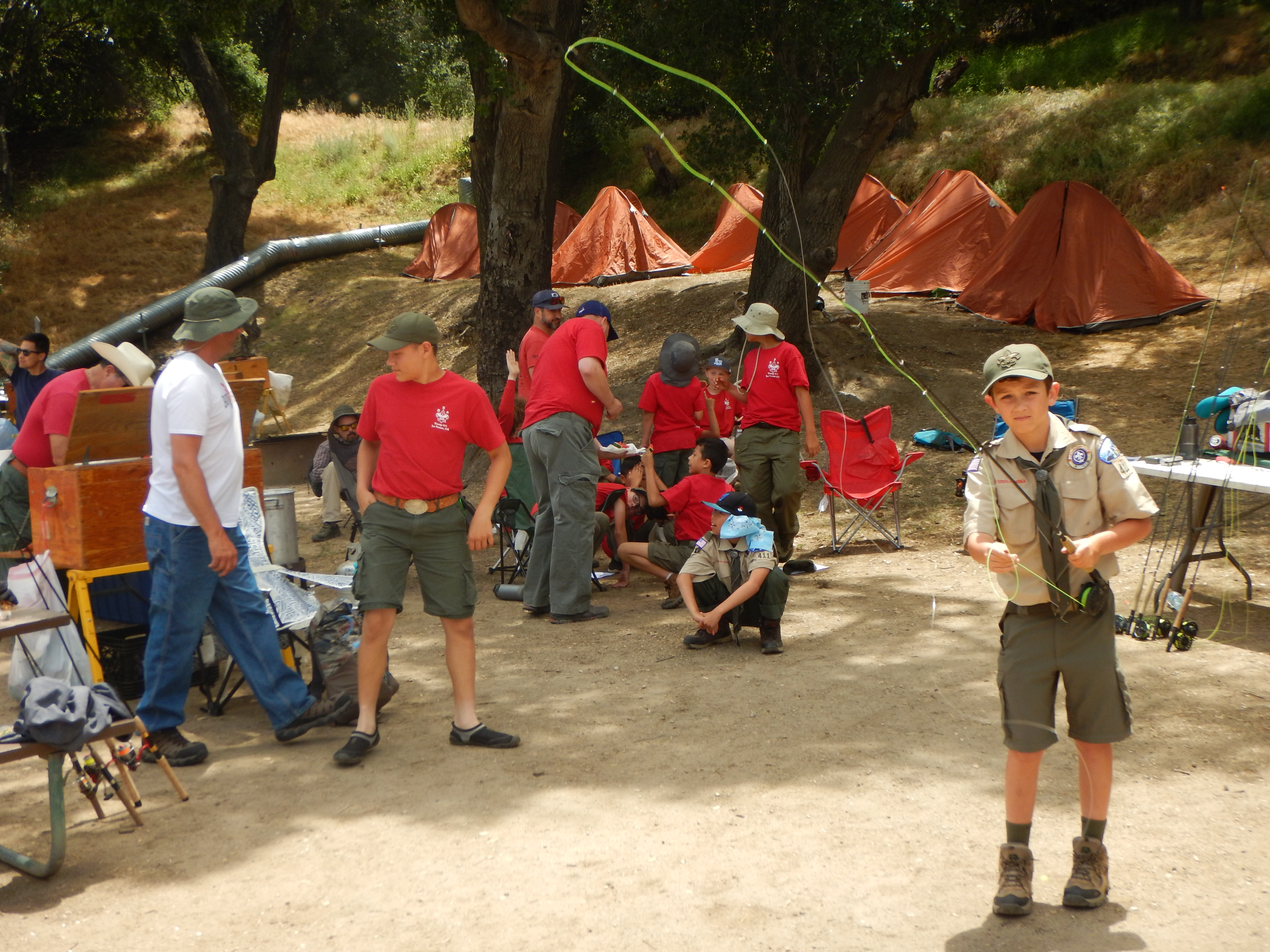 South Coast - Fly-Fishing 101 workshop with Boy Scout Troops